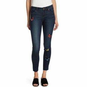 Articles of Society Sarah Butterfly Raw Hem Jean